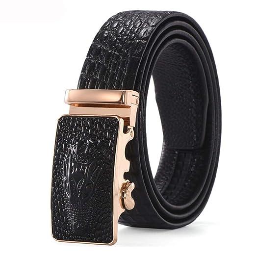 Cinturones de hombre Cinturón de cuero para hombres Cuero de ...