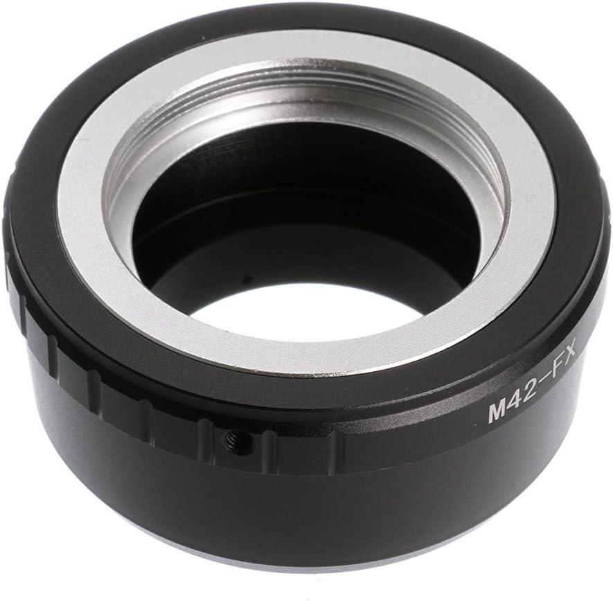 Fotga Lens Mount Adapter M42-FX for M42 42mm Lens to Fujifilm X Mount Camera X-A1 X-A2 X-A3 X-A10 X-M1 X-E1 X-E2 X-E2S X-T1 X-T2 X-T10 X-T20 X-Pro1 X-Pro2 X100F X100T X70 X30 XQ2