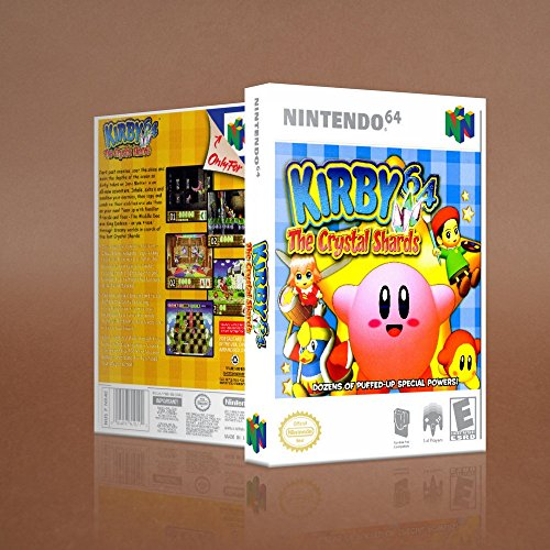 kirby and the crystal shards 64 - 1