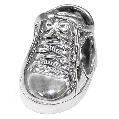 So Chic Joyas - Abalorio Charm Cordones de baloncesto - Compatible ...