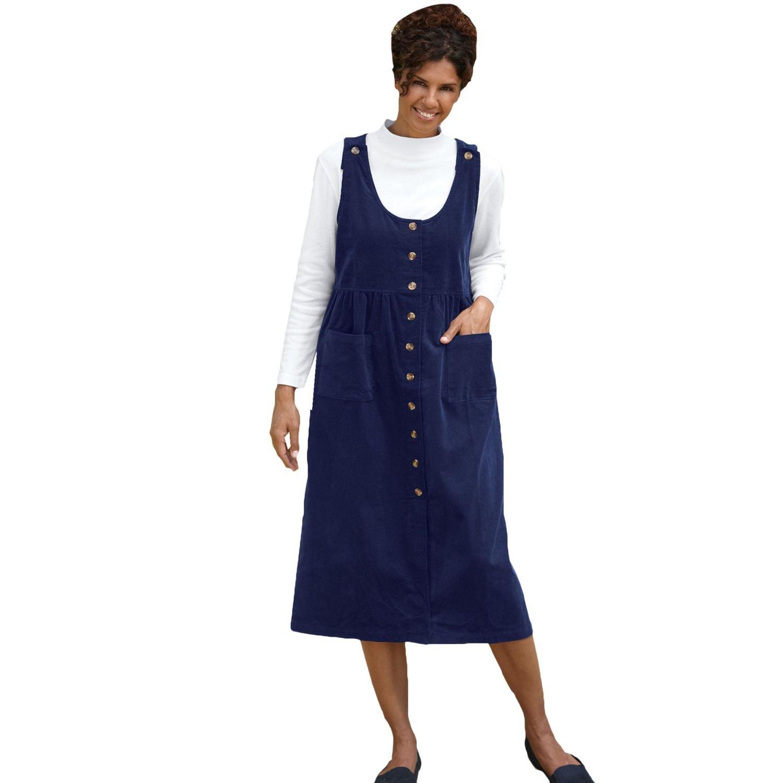 Blair Women's Cotton Corduroy Jumper