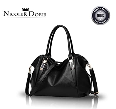 d1b18c165a41 Nicole Doris 2016 new bag ladies classic casual fashion soft bag portable shoulder  bag women Messenger bags
