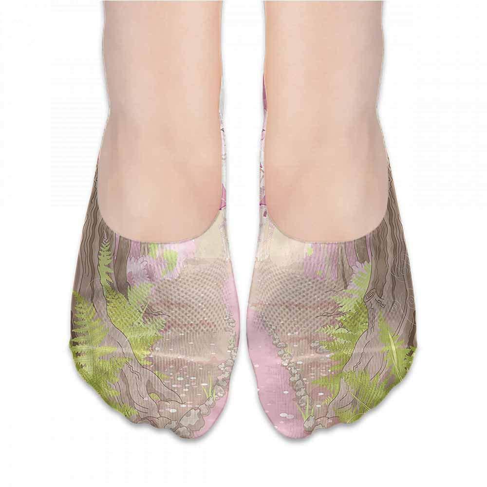 Sock for Male Gifts Teal,Winding Tendrils Leaves Vines,socks women low cut white