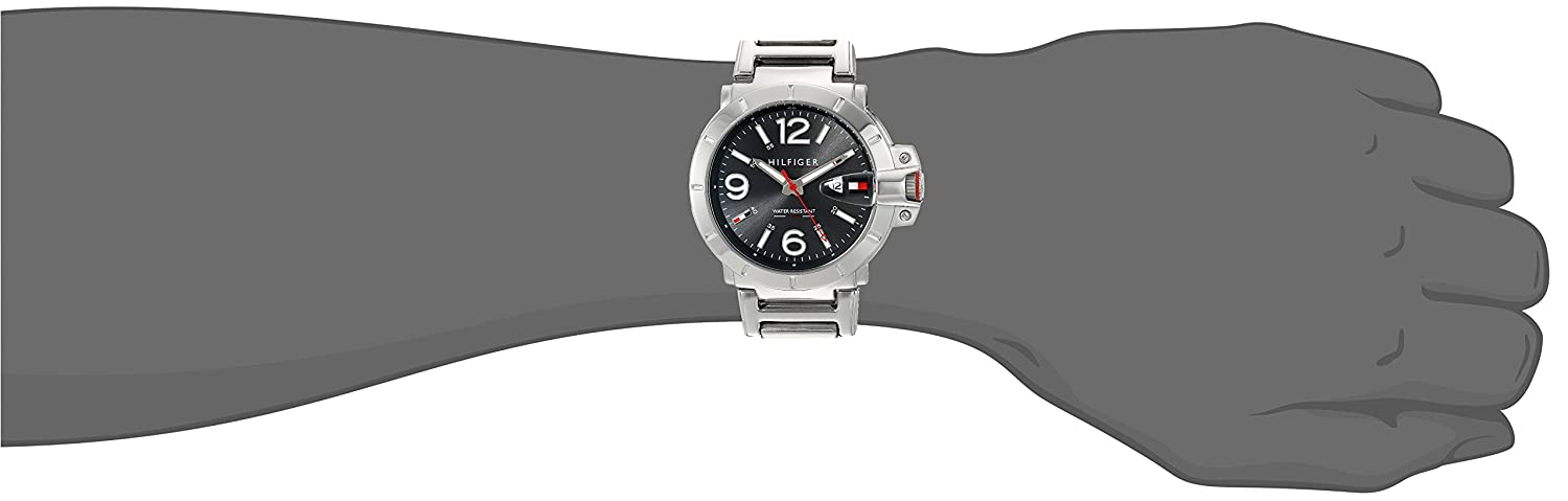 Tommy Hilfiger Malla Me Up Watch Turbo Cuarzo: Batería Reloj 1791262: Amazon.es: Relojes