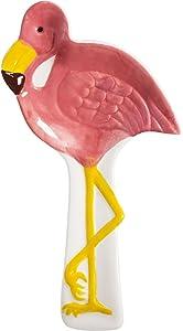 """Home Essentials 10.25""""L Flamingo Spoon Res"""