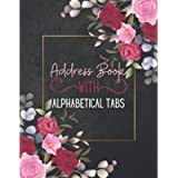 Address Book With Alphabetical Tabs: Large Print - Large Telephone Address Book for Seniors & Women - Record Birthday…
