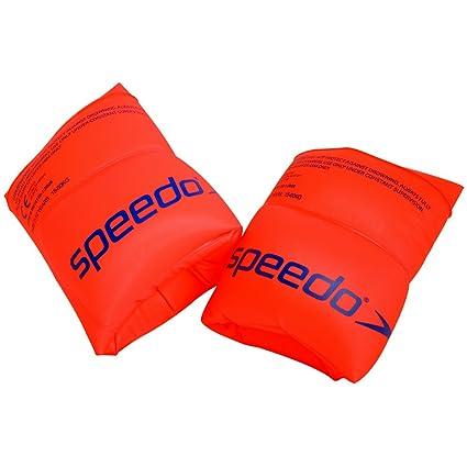 Speedo Roll Up Armbands Aprender a Nadar, Unisex niños, Naranja, One Size