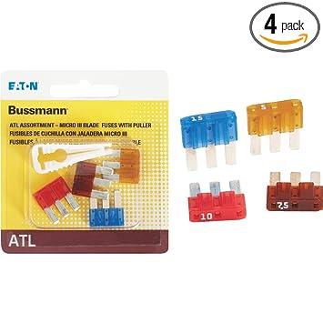 Amazon.com: BUSSMANN BP/atl-a4-rpp Micro III Asst. Con ...