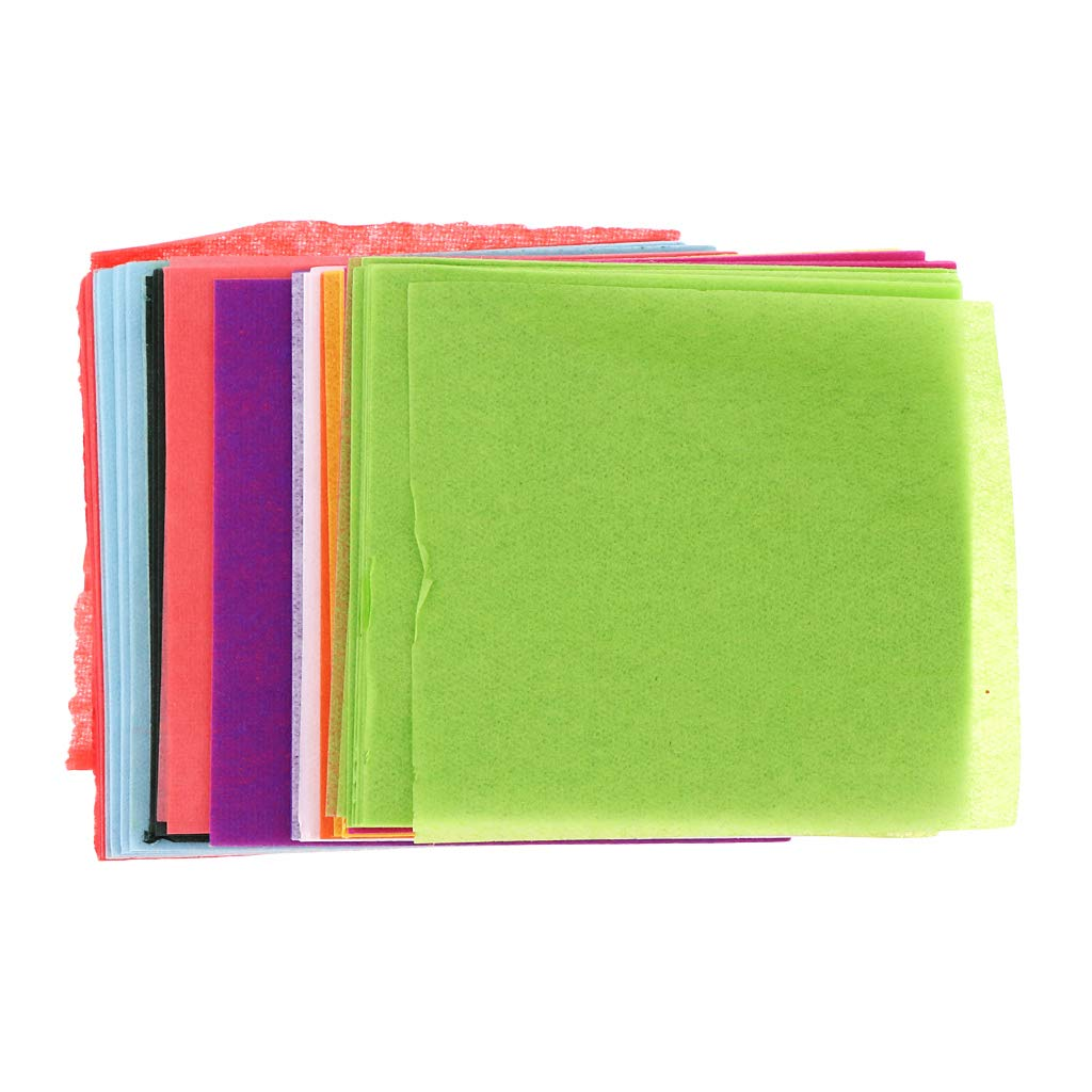 P Prettyia 300 Fogli Origami Carta Coloratissima Brillante Carte Manuale per Creazione Fai Da Te 5x5cm