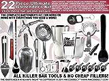 Bartender's Kit: Pro-Bartender 22 Piece Bar Set
