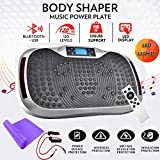 Reliancer Built-in Music Player Fitness Vibration Platform Whole Full Body Shaped Crazy Fit Plate...