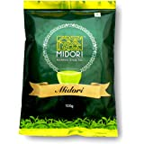 Whole Leaf Green Tea By Midori - 3.5 oz - ONE MINUTE BREW - Delicious, Sweet Sencha Style Loose Leaf Tea, Packed Garden Fresh