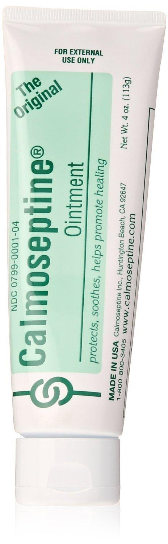 Calmoseptine Ointment Tube 4 oz (5 Pack)