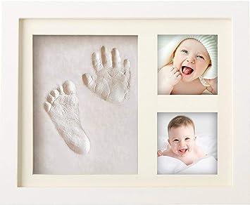 BraceTek - Kit de Marco Para Manos y Huellas de bebé para niño y ...