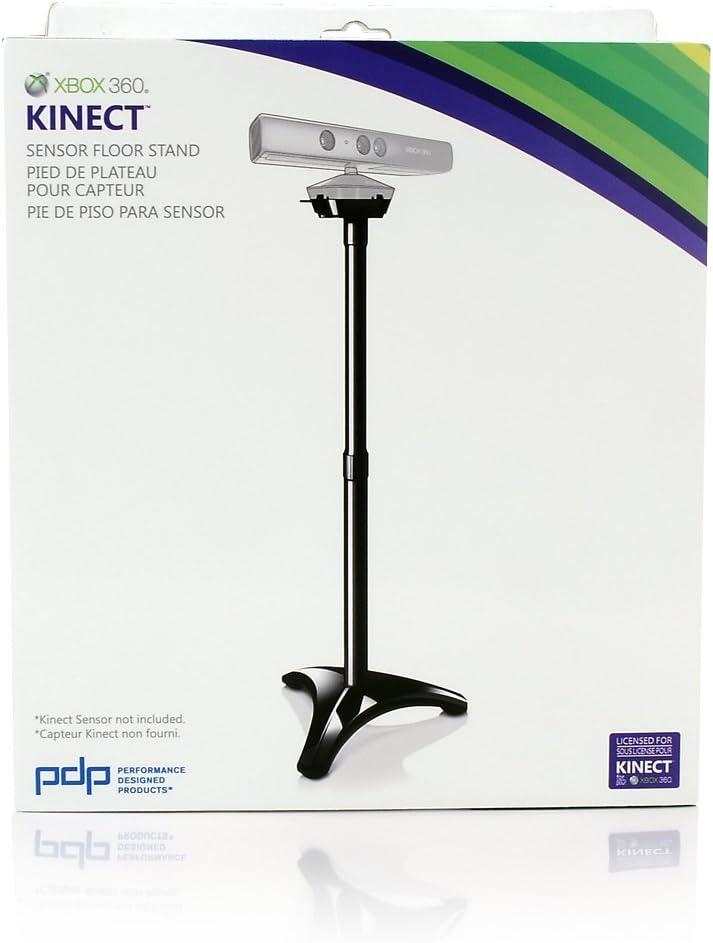 PDP Xbox 360 Kinect Floor Stand - cajas de video juegos y accesorios (Negro) Black: Amazon.es: Videojuegos