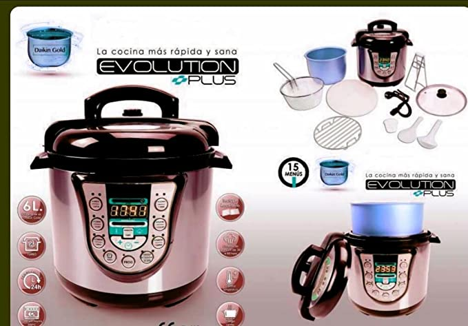 Robot de Cocina EVO olla programable: Amazon.es: Hogar