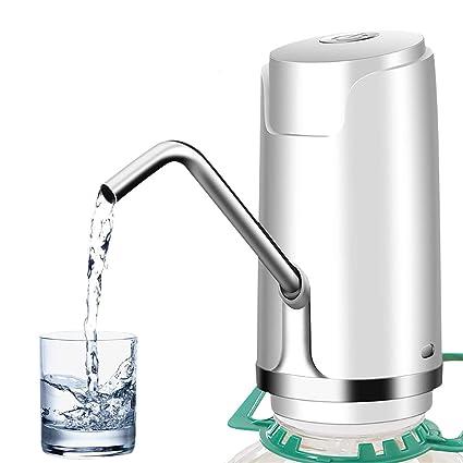 ALLOMN Bomba de Agua Potable, USB Recargable Bomba de la Botella de Agua Portátil Bomba