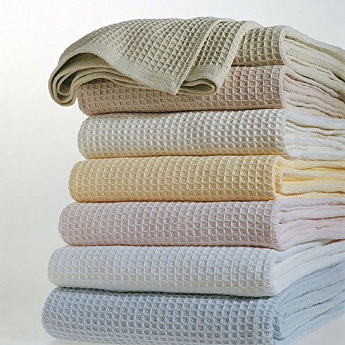 Sferra Brothers Kingston - King Blanket White from Sferra
