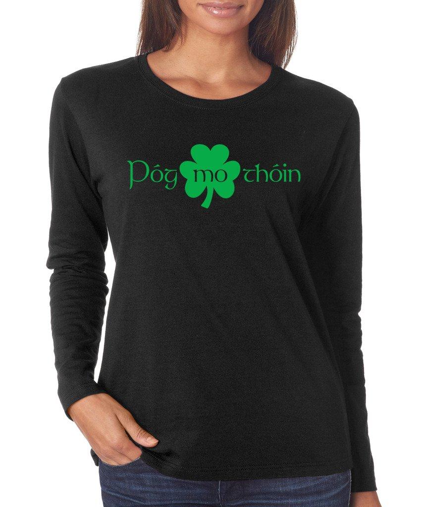 Signaturetshirts S Saint Patricks Day Pog Mo Thoin Clover T Shirt