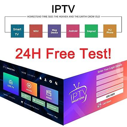 Amazon com: Smart IPTV Subscription 6300+Channels UK USA