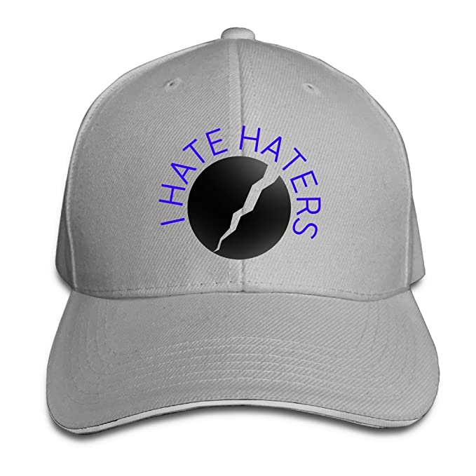 eeb9f7099b8 May I Hate Haters Baseball Caps Crazy Comfortable Snapback Hats For Women