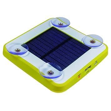 XIHAA Cargador De Ventana Solar Con Ventosas, 1800Mah Quick ...