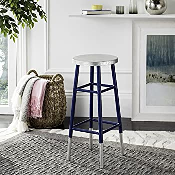 Amazon Com Safavieh Home Collection Kenzie Navy Blue And