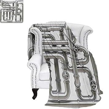 Amazon.com: warmfamily - Manta de microfibra cálida para ...