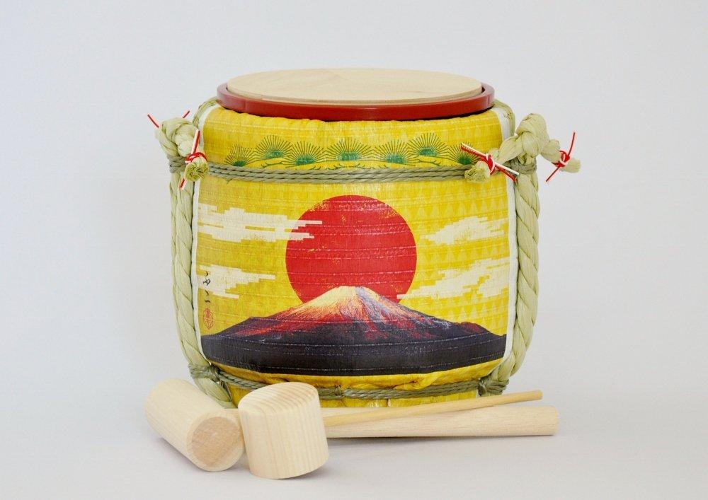 Amazon com | Mini Komodaru Sake-Barrel Set