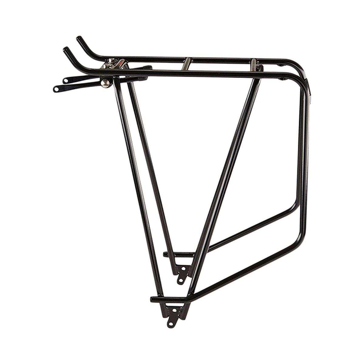 /Cargo Tubus Carrier Cargo 26/28/Inch Black Silver Rear Cycling Bicycle Bike Rear Rack Bag/