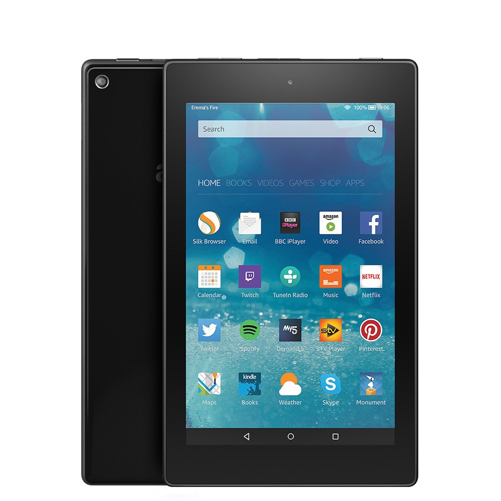 Fire hd 8 tablet 8 hd display wi fi 16 gb black includes special offers amazon co uk kindle store