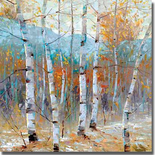 Artistic Home Gallery Still Morning by Dean Bradshaw Premium Museum-Wrapped Stretched Canvas Art (27 in x 27 in, Ready-to-Hang) from Artistic Home Gallery
