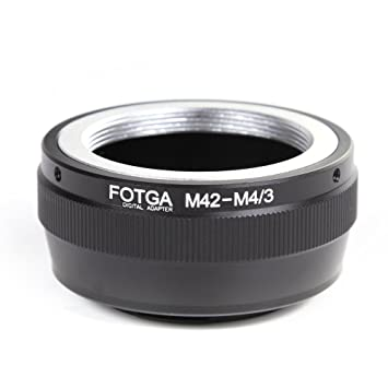Fotodiox Lens Mount Adapter MFT M42 Lens to Micro Four Thirds Olympus Pen and Panasonic Lumix Cameras