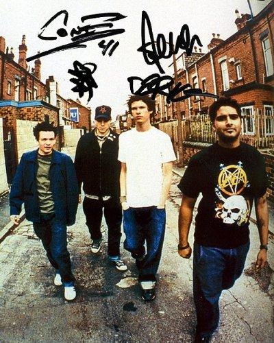 Sum 41 Autographed Preprint Signed Photo 2