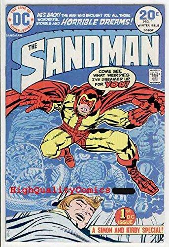 Jack General Electric - SANDMAN #1, Jack Kirby, Joe Simon , FN to FN, 1974, Dreams, General Electric