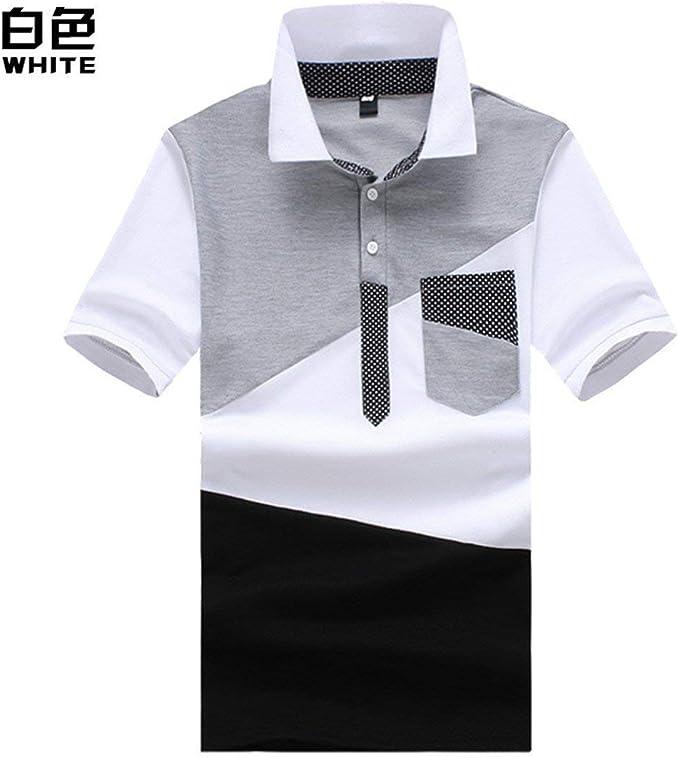 Hombre Camisa De Polo para con Bolsillo En El Pecho Chic Hombres ...