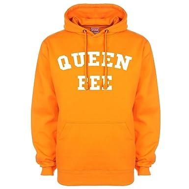 Queen Bee de Beyoncé Lorde Sudadera con capucha Naranja naranja: Amazon.es: Ropa y accesorios