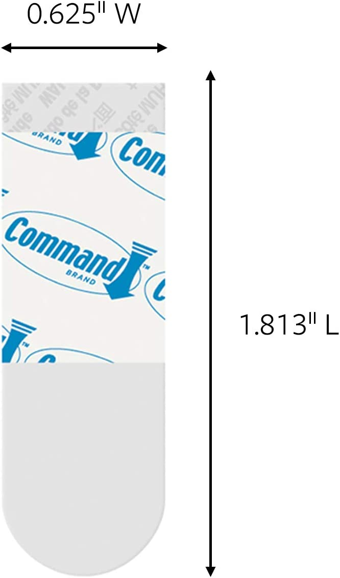 17024CLR Command Klebestreifen zum Aufh/ängen von Postern