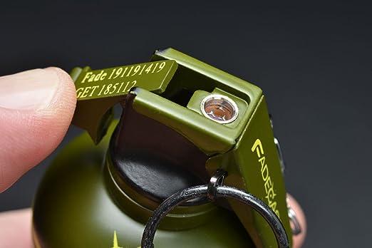 fadecase Lighter Replica - Real csgo Grenade Mechero Skin Counter Strike Global Offensive (High Explosiva)