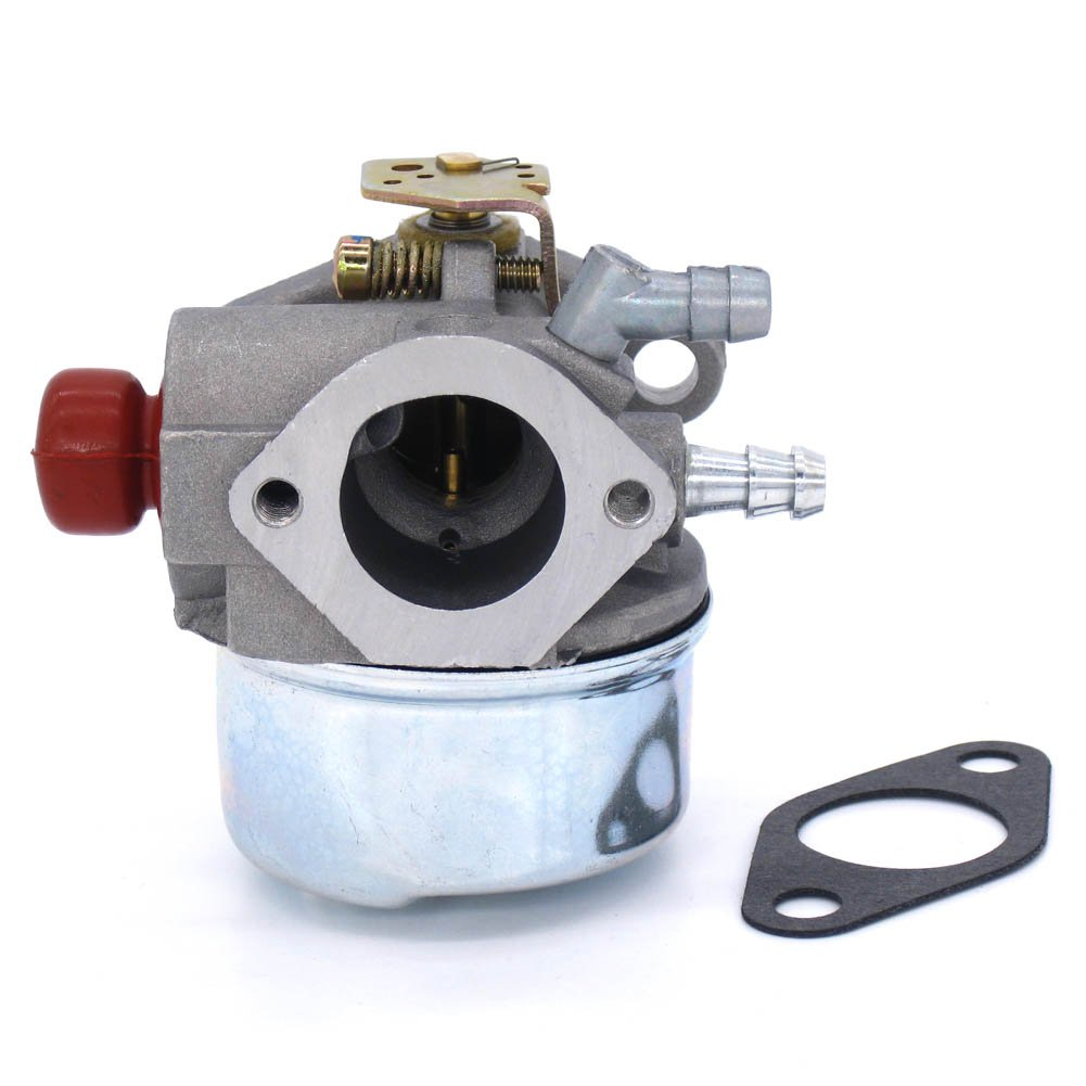 NIMTEK Carburetor for Tecumseh 640135A Pressure Washer Snowthrower OH195XA 5.5HP Carb