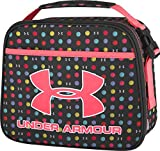Under Armour Lunch Cooler, Black background with multi color dots