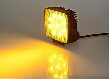 Amazon led lights bar led work light bar a lighting 2150 led lights bar led work light bar a lighting 2150 lumen 27w off sciox Choice Image