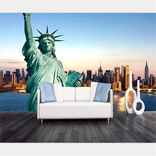 Statue of Liberty 2 mural Photo Wallpaper Mural Giant Wall Covering Decor