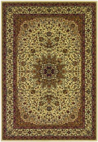 Couristan Izmir Royal Kashan Ivory Area Rug, 9'2