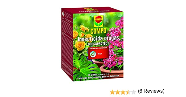 Compo 2062002011 Insecticida Orugas 60Gr, 17x13x7 cm: Amazon.es ...