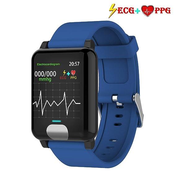armo Pulsera Actividad,ECG +PPG Pulsera Inteligente con Pulsómetro Pulsera Deportiva y Monitor de Ritmo Cardíaco Monitor de Actividad Impermeable IP67 Reloj ...