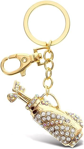 Gold Elegance Keychain