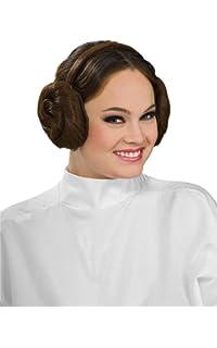 Amazon.com: Rubies Womens Star Wars Princess Leia Deluxe Costume ...