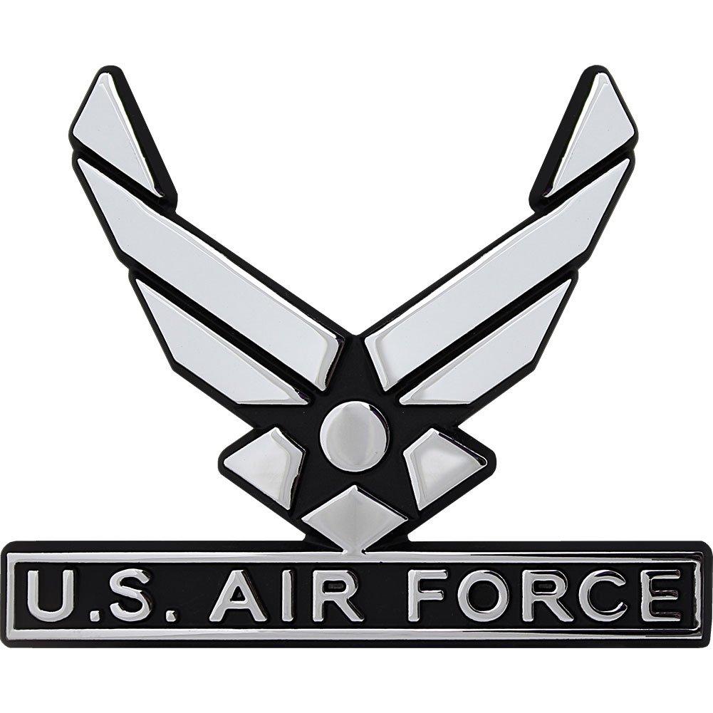 Amazon Us Air Force Hap Arnold Wings Chrome Auto Emblem