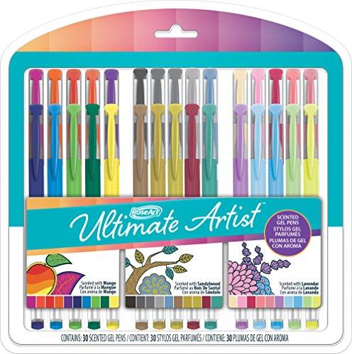 RoseArt Ultimate Artist Scented Gel Pens, 30 Count